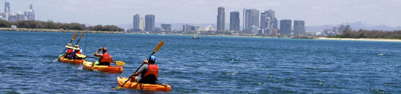 Kayaking on the Gold Coast
