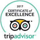 Seaway Kayaking Tours Certificate of Excellence 2017
