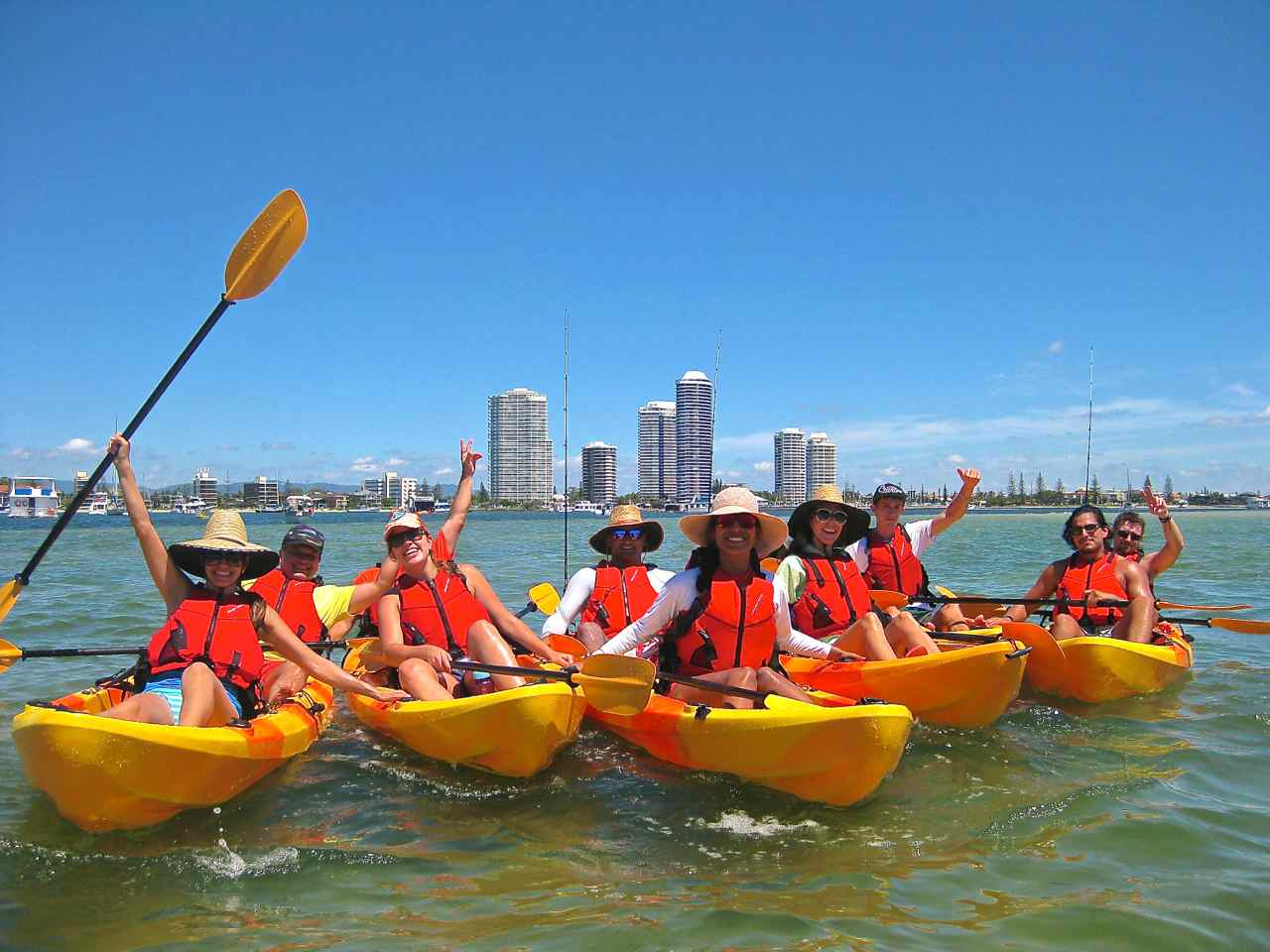 Kayak SUP Snorkel Hire  Gold Coast  Kayaking in Gold