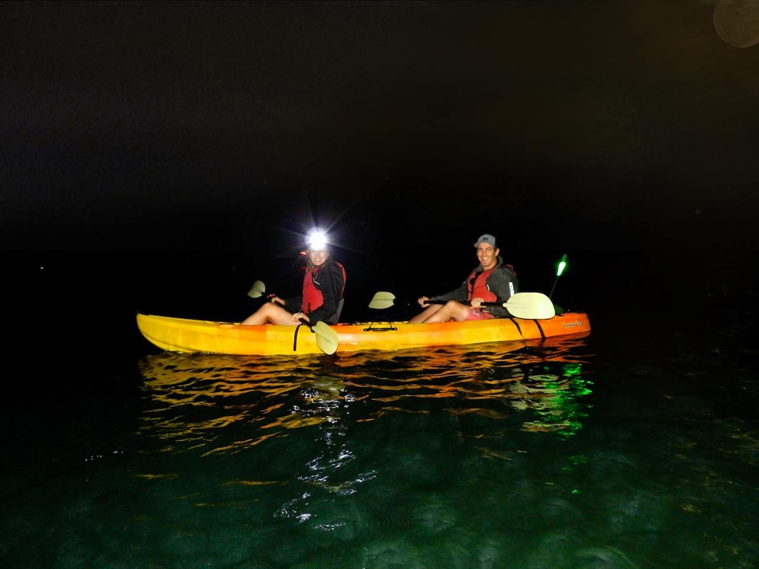 Full Moon kayaking adventure