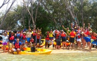 groupal kayaking photo