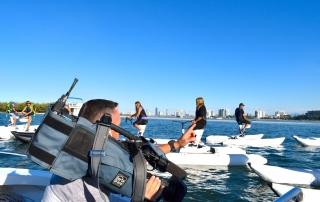Water bikes Gold Coast on TV
