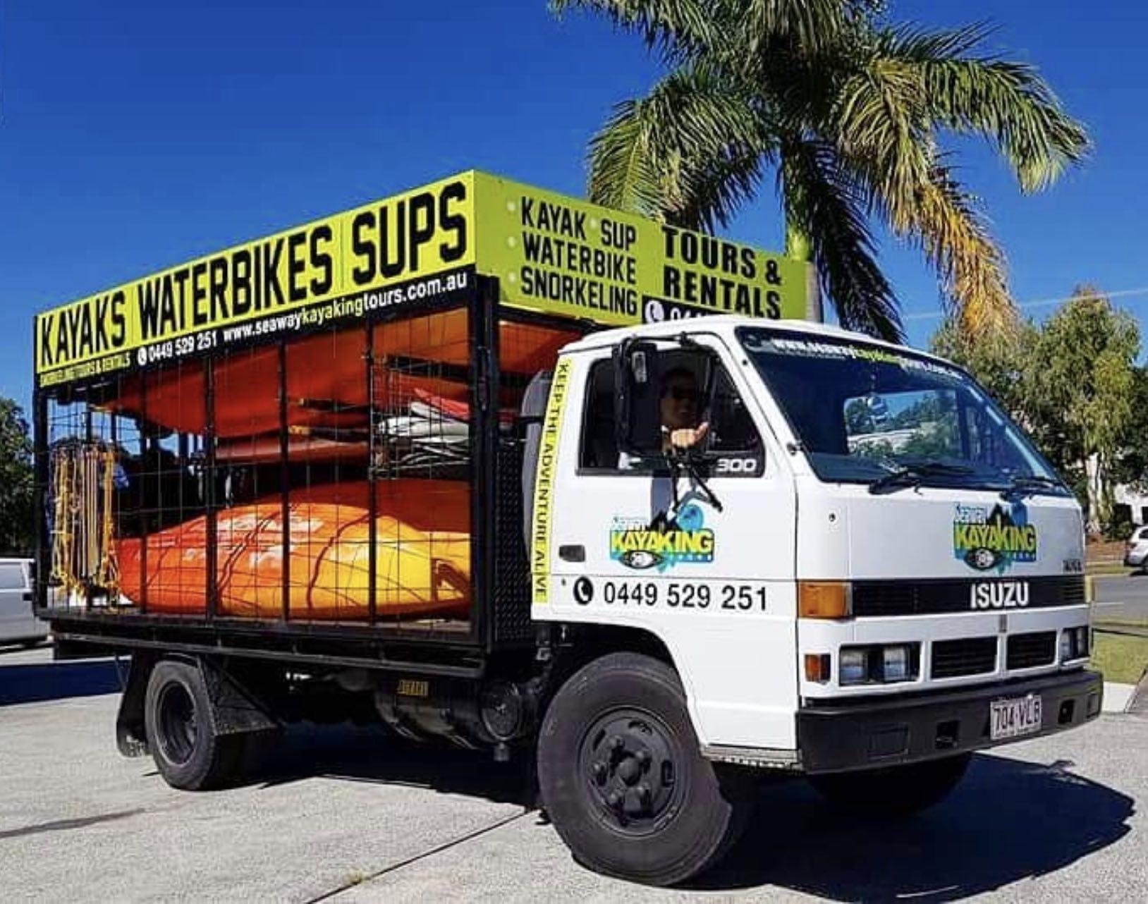 Seaway Kayaking Tours Truck