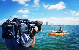 Channel 7 behind the scenes of an amazing kayaking experience